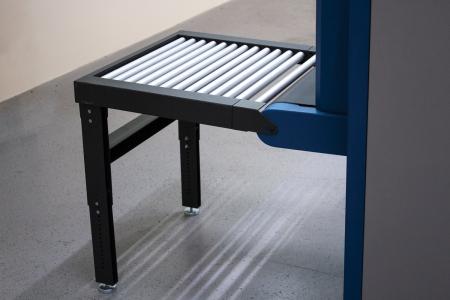Входной роликовый стол(рольганг)для интроскопа