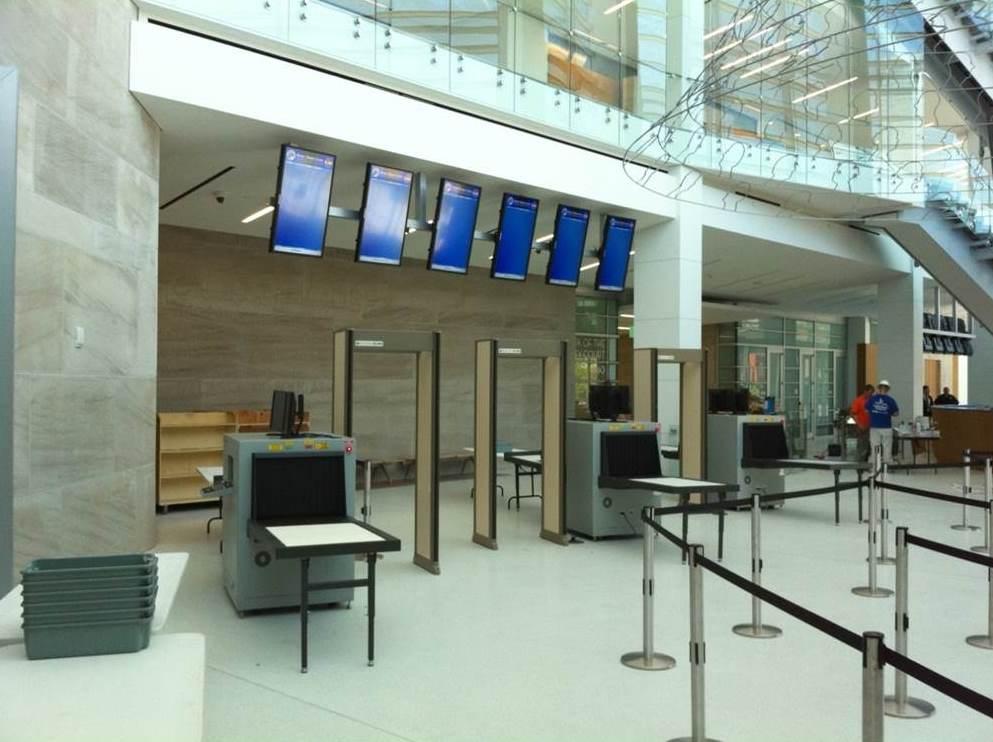 Рентгенотелевизионные установки в аэропорту
