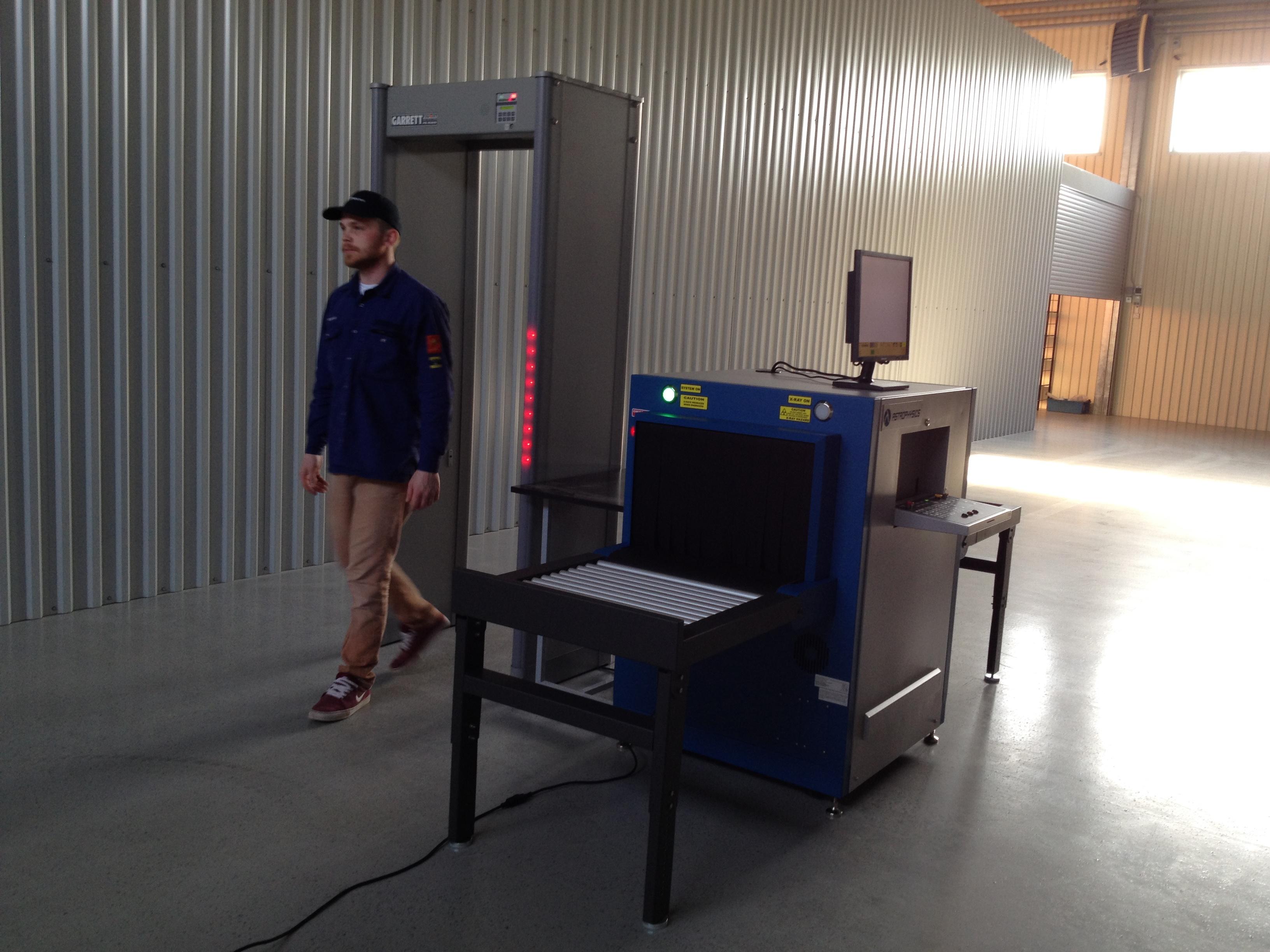Металлодетектор и интроскоп для склада и СВХ