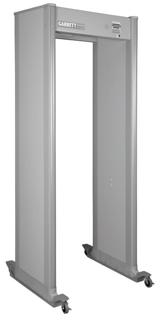 Комплект роликовых опор для арочного металлодетектора