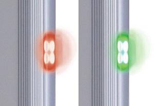 Индикаторы прохода арки металлоискателя