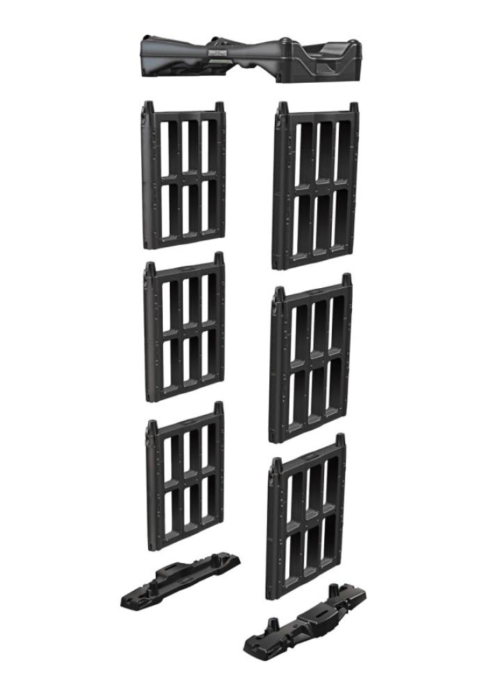 Конструкция мобильного арочного металлодетектора