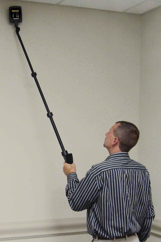 Проверка стен нелинейным локатором