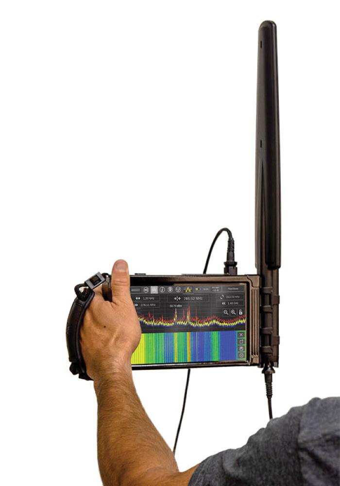 Радиомониторинг с использованием Портативный анализатора  спектра MESA Basic
