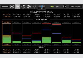 Портативный анализатор  спектра MESA Basic_7