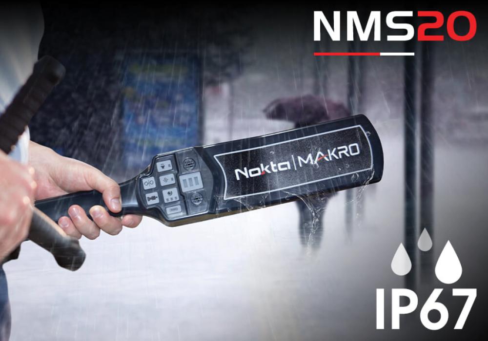 Класс защиты NMS20 от воды IP67