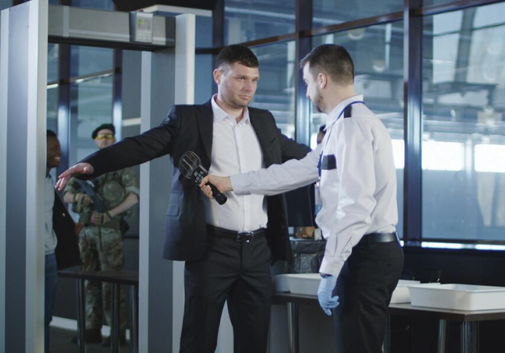 Досмотр пассажиров в аэропорту с помощью NMS30 - рис.1