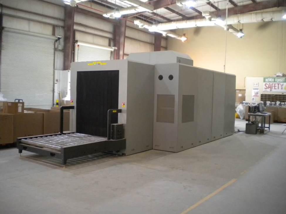Рентгенотелевизионная установка для склада и СВХ
